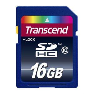 Transcend 16GB SDHC (CLASS 10) Premium