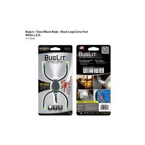 BugLit LED Micro Flashlight - Black/Lime