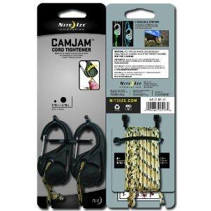 Mousqueton CAMJAM de Nite Ize (2 unités avec corde)