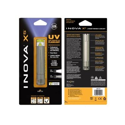 Lampe de poche INOVA X-Series, X5, titanium, ultraviolet