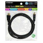 Câble HDMI haute vitesse de 6 pieds avec Ethernet de Xtreme