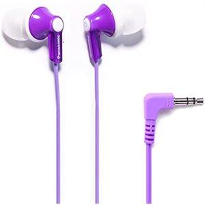 Écouteurs-boutons stéréo ErgoFit à isolation acoustique - mauve