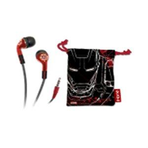 eKids - Écouteurs Iron Man avec étui