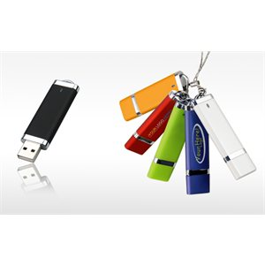 Capped USB - 16GB - with 1 Colour Logo