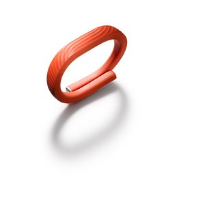 Jawbone UP24 Fitness Tracker Band, Large - Persimmon
