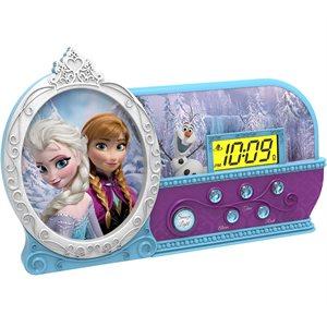 Réveille-matin veilleuse de La reine des neiges de eKids Disney (FR-346.FX)