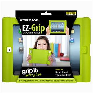 Étui silicone EZ Grip pour iPad 2 de Xtreme - Vert