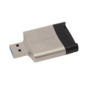 Kingston (MobileLite G4) - Lecteur multi-cartes USB 3.0 (FCR-MLG4)