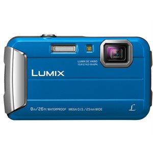 PANASONIC CAMERA DMCTS30A LUMIX BLUE WATER RES.