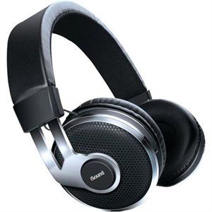 iSound écouteur DGHP-5602 Bluetooth sans-fil avec microphone et contrôle de son modèle BT-2500