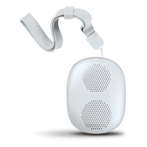 ISOUND POP DROP MINI WIRELESS BLUETOOTH SPEAKER - WHITE