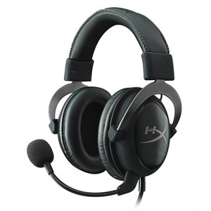 Casque-micro HyperX Cloud II de Kingston - Métallique