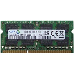 SAMSUNG 8GB 1600MHZ DDR3L NON-ECC CL11 SODIMM 1.35V  8GB PC3-12800  DR