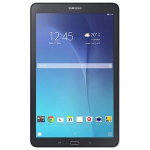 Samsung Galaxy Tab E 9,6po, quadricoeur à 1,2 GHz, Android™ 5.0, Lollipop, 16 Go, Wi-Fi, noir, bilingue (Rabais instant.)