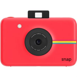 POLAROID SNAP DIGITAL INSTANT CAMERA RED