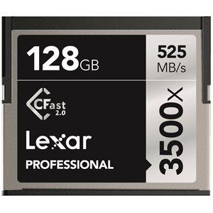 LEXAR 128GB PROFESSIONAL 3500X CFAST