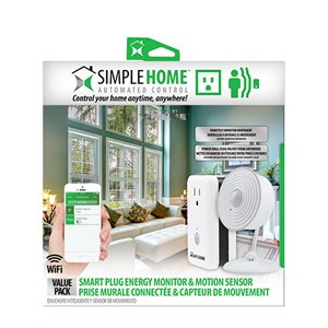 XTREME XCK7-1001-PP1 WIFI SMART PLUG ENERGY MONITOR + MOTION SENSOR VALUE PACK