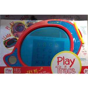 BOOGIE BOARD PLAY & TRACE LCD EWRITER, RED - TRILINGUAL