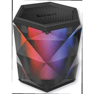 Enceinte Bluetooth à couleurs changeantes avec haut-parleur mains libres d'iHome (IBT68BC)