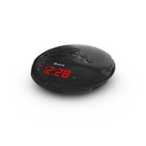 BORNE CR630D DIGITAL AM/FM CLOCK RADIO 0.6'' LED DISPLAYDUAL ALARM BATTERY BACK UP