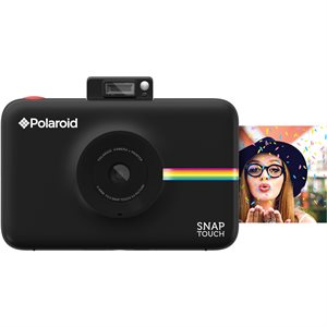 POLAROID SNAP TOUCH INSTANT PRINT DIGITAL CAMERA W/LCD DISPLAY **BLACK** WITH ZINK ZERO INK PRINTING
