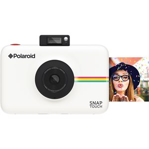 POLAROID SNAP TOUCH INSTANT PRINT DIGITAL CAMERA W/LCD DISPLAY **WHITE** WITH ZINK ZERO INK PRINTING