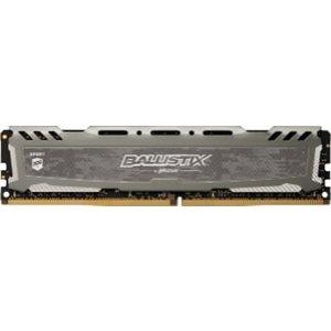 CRUCIAL BALLISTIX SPORT GREY 4GB DDR4 2400 (PC4-19200) CL16 SR X8 UNBUFF DIMM 288PIN