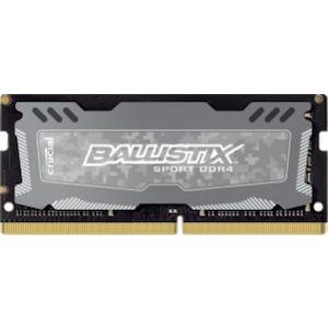 CRUCIAL BALLISTIX SPORT GREY 8GB DDR4 2400 (PC4-19200) CL16 SR X8 UNBUFF SODIMM 260PIN