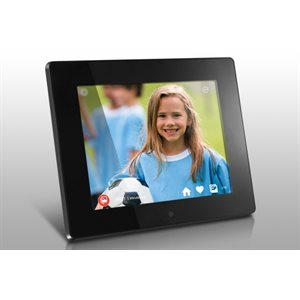 "ALURATEK 8 "" WIFI Digital Photo Frame w/ Touchscreen IPS Display & 8GB Memory"