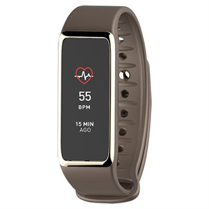 MYKRONOZ ZEFIT3 WITH HR - FITNESS TRACKER - BROWN/GOLD