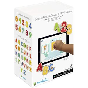 MARBOTIC SMART BUNDLE LETTERS + NUMBERS INTERACTIVE WOODEN BLOCKS