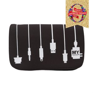 MYTAGALONGS PLUG IN CHARGER CASE BLACK