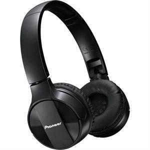 PIONEER SEMJ553BTK BLUETOOTH WIRELESS STEREO HEADPHONES - BLACK ** RETAIL **