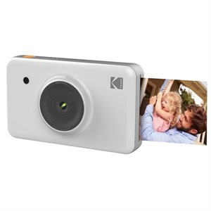 "KODAK 10 MegaPixel 1.7""LCD Viewfinder Mini Shot Instant Camera*White*"