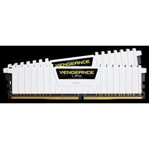 CORSAIR 16GB (KIT OF 2) 3200MHZ DDR4 DIMM 16-18-18-36 VENGEANCE LPX WHITE HEAT 1.35V