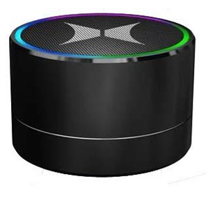 XTREME HELIX PREMIUM LIGHT UP BLUETOOTH SPEAKER - BLACK