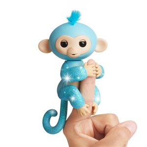 WOWWEE Fingerlings Baby Monkey - 2tone - Charlie (Blue & Green)