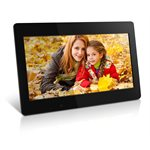 "ALURATEK 18.5"" Digital Photo Frame with 4 GB Built-In Memory and Remote"
