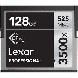 LEXAR # 128GB PROFESSIONAL 3500X CFAST