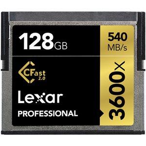 LEXAR # 128GB PROFESSIONAL 3600X CFAST