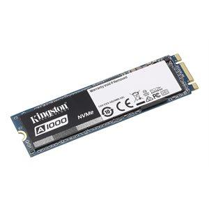 Disque SSD Kingston 480GB M.2 A1000 PCIe NVMe 2280