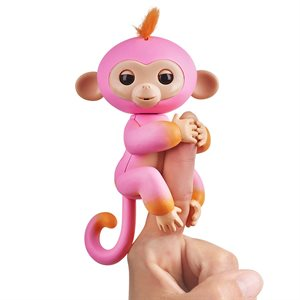 WOWWEE Fingerlings Baby Monkey - 2tone - Summer (Pink)