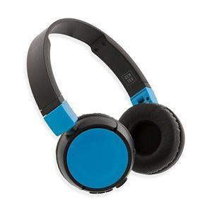 GenTek H3 ON-EAR WIRELESS FOLDABLE HEADPHONES*BLUE*