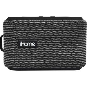 iHome Portable Water Resistant Rechargeable Bluetooth Speaker with Speakerphone