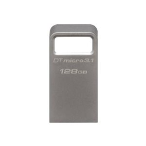 KINGSTON 128GB DTMicro USB 3.1/3.0 Type-A metal ultra-compact (Canada Retail)