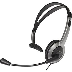 PANASONIC HEADSET CRDLESS PHONE EARCLP 2010 SILVER