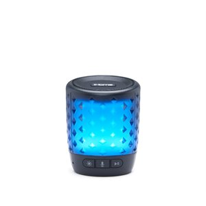 iHome Color Changing Bluetooth Rechar Spk w/Siri, Google Now/Assist & Melody Voice Control*ENGL.ONLY