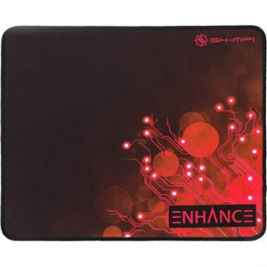 "ACCESSORY POWER ENHANCE Voltaic XL Fabric Mouse Pad - Features an extra large 12.6"" x 10.6""*Red*"