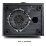GOgroove SonaVERSE LBr USB Powered 2.1 Computer Speakers*Grey*