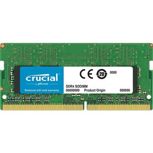 CRUCIAL 8GB DDR4 2400 MT/s (PC4-19200) CL17 SR x8 Unbuffered SODIMM 260pin  for Mac